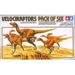VELOCIRAPTORS PACK OF SIX 1/35