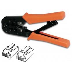Krimptang voor 6P6C,6P4C(RJ12)