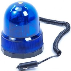 12v zwaailicht blauw/magneet