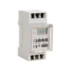 Din Rail digitale weektimer resolutie 1 minuut