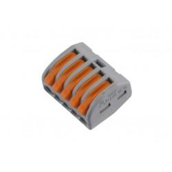Wago lasklem 5-polig 0.08-4mm2