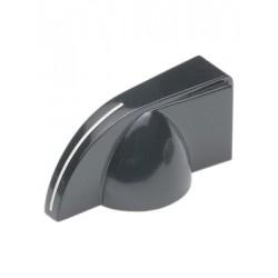 Pijlknop voor 6mm as (22mm lang)