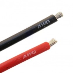 4.0 enkeladerig soepel rood /mtr 100% koper 12A