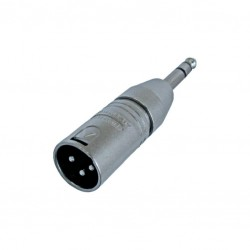 xlr male 6,3mm stereojack