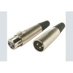 Xlr plug fem.   5p. low cost