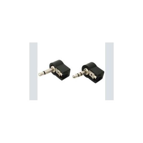 3.5mm plug stereo haaks pvc
