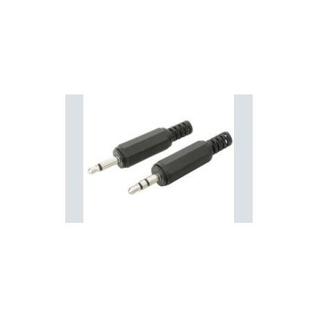 3.5mm plug      mono plastic