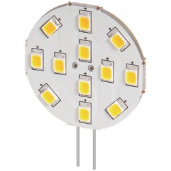 12v 2W LED lamp warm wit G4  170 lumen