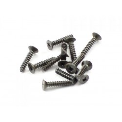 Countersunk self tapping screw 2.6x10mm 12st.