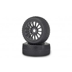 1/8 buggy band+velg minipin 2x