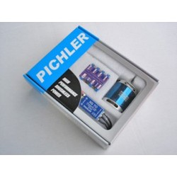 "Pichler brushless set 1130kv 2-4s lipo 12x8"""