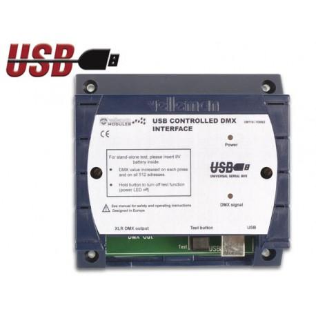 USB DMX controller