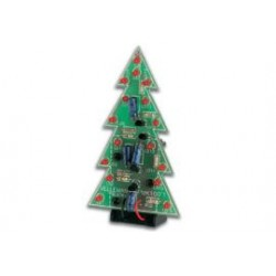 minikit Kerstboom met knipperleds