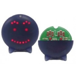 minikit LED Smiley 75mm rond
