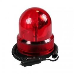12v zwaailicht rood/magneet