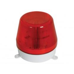 flitlicht 220VAC rood 15W!