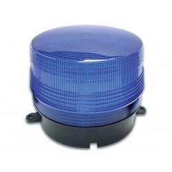 12v flitslicht blauw 100x80mm