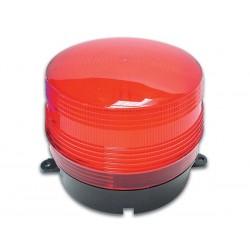 12v flitslicht rood 100x80mm