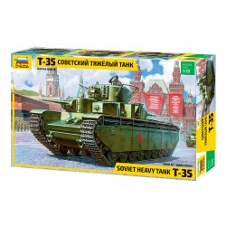 T-35 SOVIET HEAVY TANK 1/35