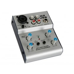 2x line 1x micr USB mixer