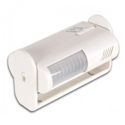 Alarm/deurbel draagbaar+PIR