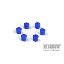 Cap for 14mm handle bleu 6st.