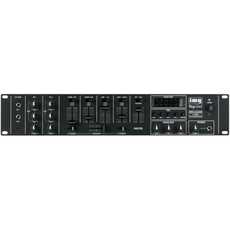 6 kan audio mengpaneel mixer 6kan. MPX622/sw