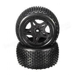 Rear wheel tires 1/12 Dune racer