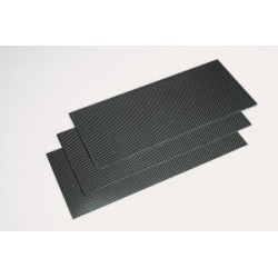 carbon plaat 1mm 15x35cm