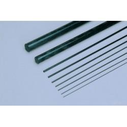 carbon rond staf 2,5mm 1mtr. 10 stuks (in de winkel per stuk verkrijgbaar)