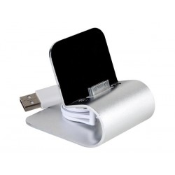 luxe USB Ipod&Iphone lader (30 pin conn.)