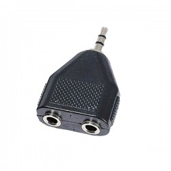 Y-adapter 3.5mm stereo