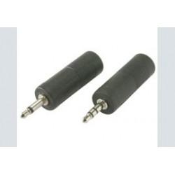 3.5mm st.-m  6.3mm st.-f pvc