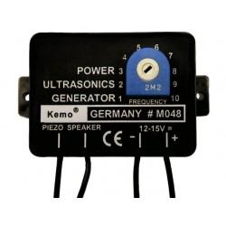 Generator v. ultrasone geluid tot max 5x piezo!