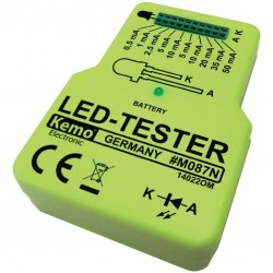 Ledtester voor losse led's