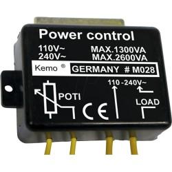 Vermogenregelaar 230V 2600W