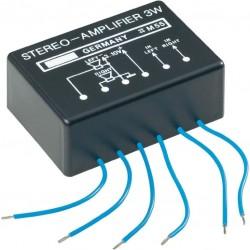 Stereo versterker 3W  3-10 DC