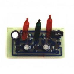 mini looplicht 3x lampje 9 - 12V