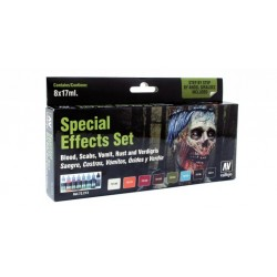 Game color set Special effects 8x17ml.