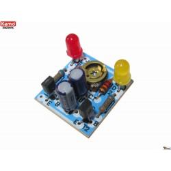 kit Rood/groen LED wissel knipperlicht 6-12V