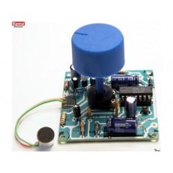 kit supergevoelige microfoonversterker 9 v