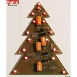 kit kerstboom met 16 knipperled's 9v