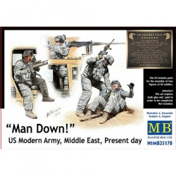 MAN DOWN US MODERN 1/35