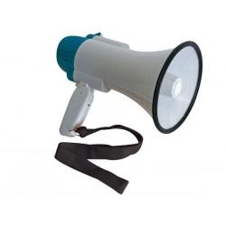 megafoon 10W met sirene