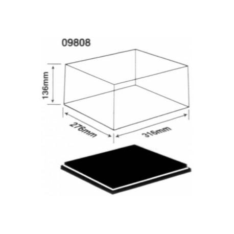 Display case 316x276x136mm