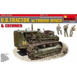 U.S. TRACTOR w/TOWING WINCH 1/35