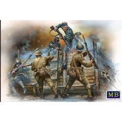 GERMAN&BRITISH INFANTRY WWI 1/35