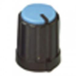 potmeter kartelas knop blauw 16x12mm