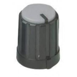 potmeter kartelas knop grijs 16x12mm
