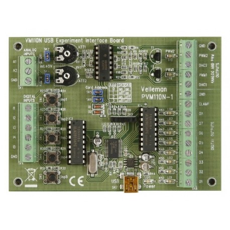 USB input/output interface